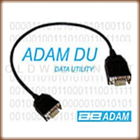Connection cable and the text AdamDU data utility
