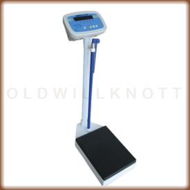 Adam MDW 250L medical column scale.