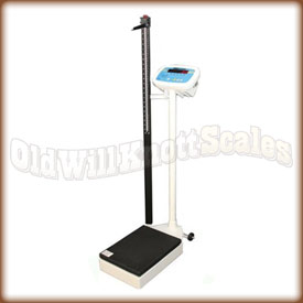 Adam MDW 300L medical column scale.