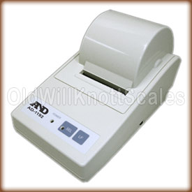 A&D Compact data printer.