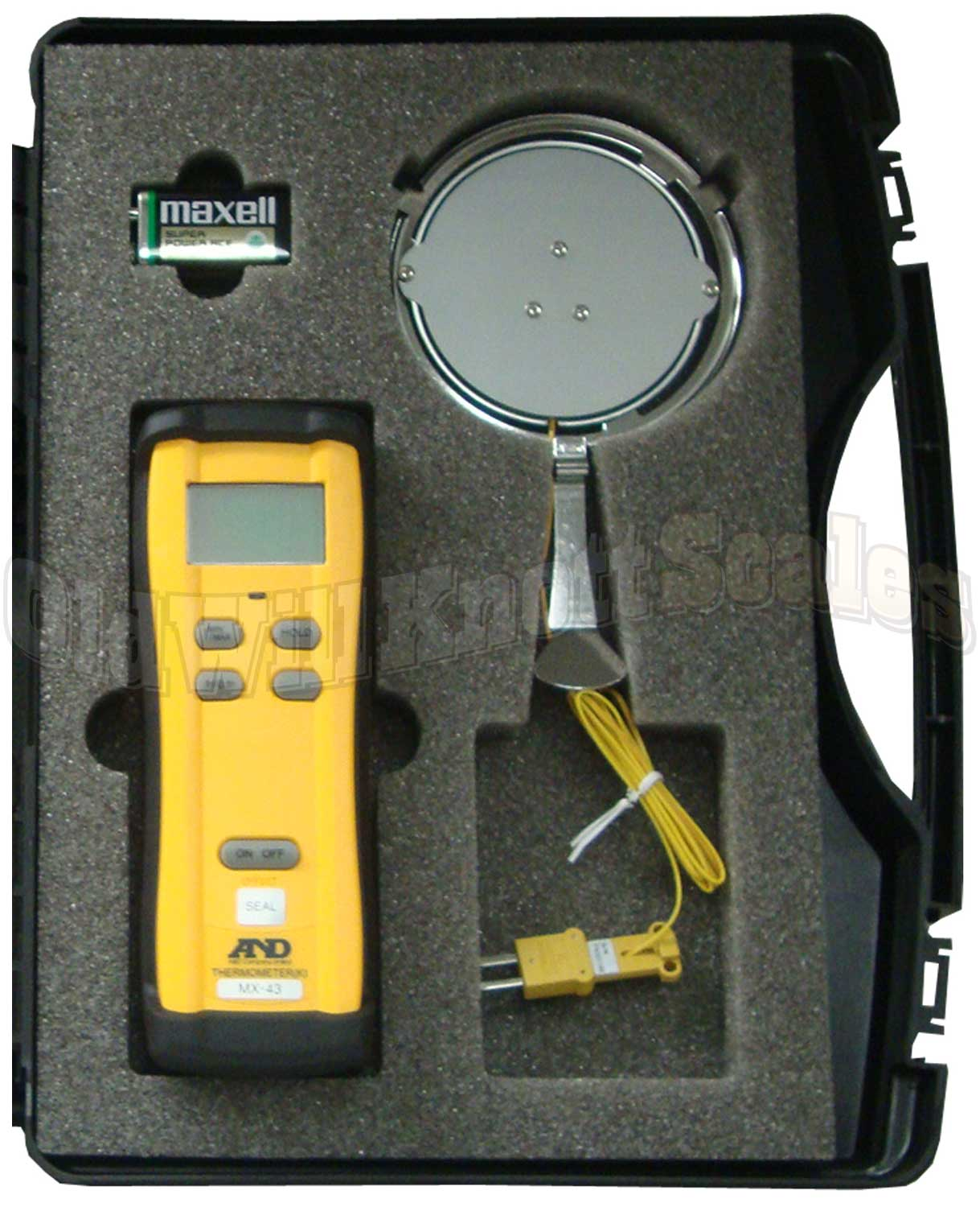 Scale Calibration Weights >> A&D Scales AX-43 Temperature Calibrator for A&D MS-70 & MX-50