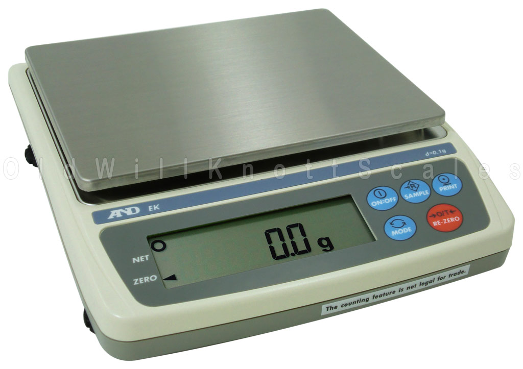A Amp D Scales Everest Series Ek 3000i Precision Jewelry Scale