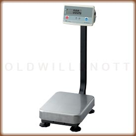 The FG-K industrial scale with column mount display.
