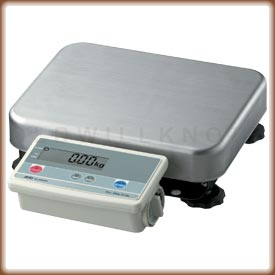 The FG-K industrial scale with remote display.