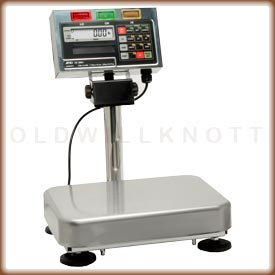 The FS-i checkweighing scale with large platform.