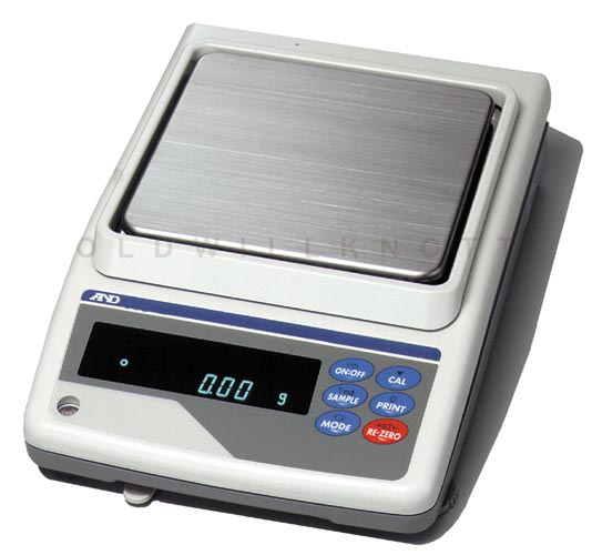 A Amp D Scales Gx Series Gx 4000 Toploader Precision Balance