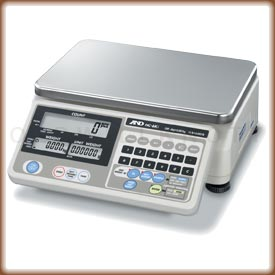 The A&D HC-i Series digital counting and inventory scale.