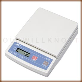 The A&D HL-4000 compact precision balance