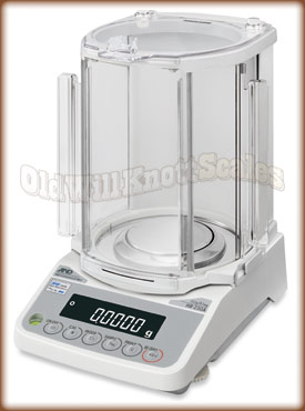 The A&D Galaxy analytical balance.