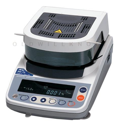 A Amp D Scales Ms 70 Moisture Balance