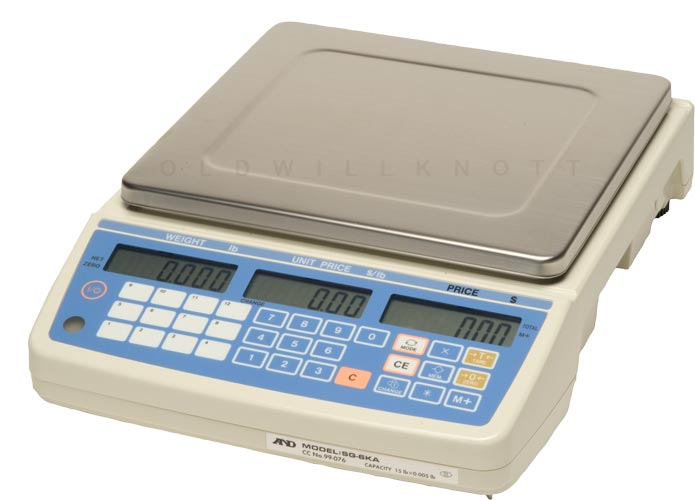 Commercial Food Service Scales Digital Price Calculating Scale With 30 Item Memory Models Sg 6ka 15ka 30ka