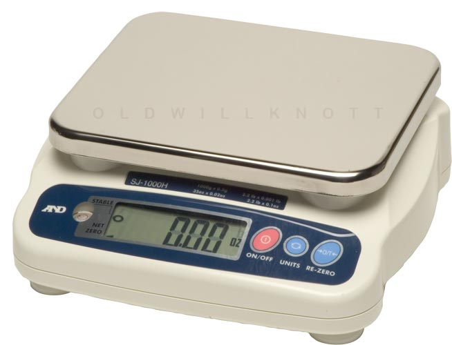 A Amp D Scales Sj 1000hs General Purpose Digital Scale
