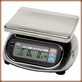 The A&D SK-WP Series digital washdown scale platform