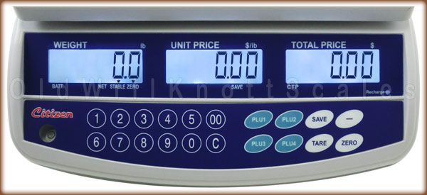 Citizen - CTP-60 - Display