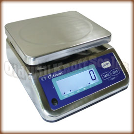 The Citizen CWP 6 compact washdown scale.