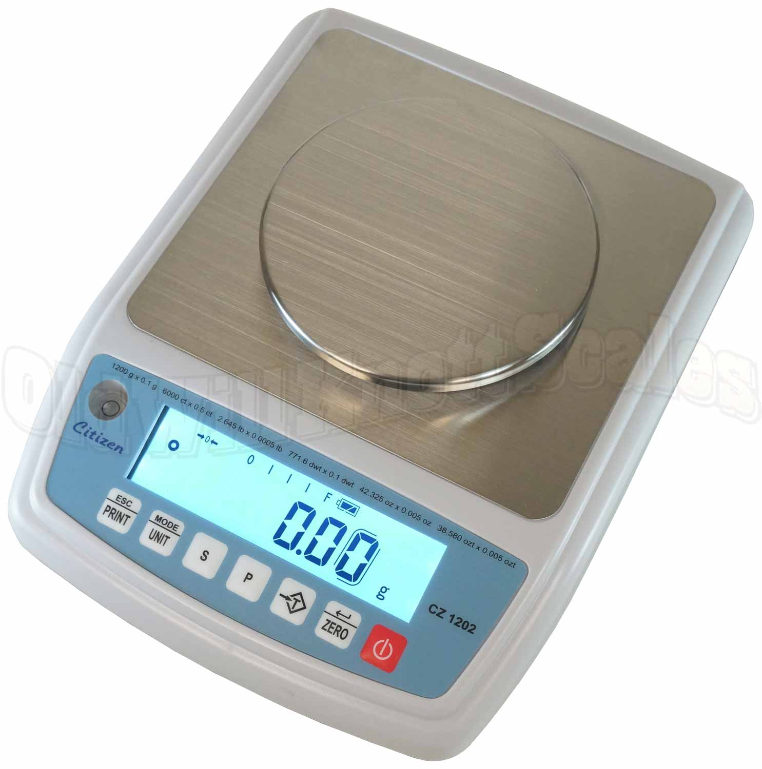 Citizen CZ 1202 NTEP Approved Digital Jewelry Scale