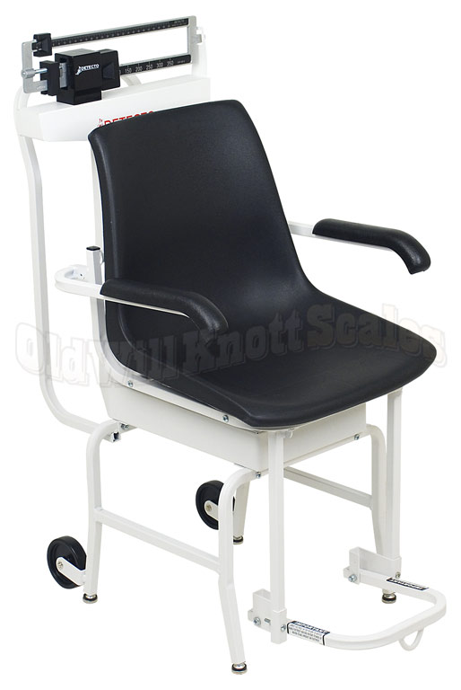 weigh beam chair scale designed with and comfort in mind 400 pound capacity x 4 ounce resolution detecto - Detecto Scales