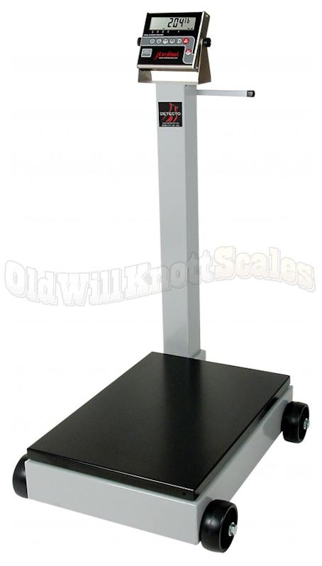 Detecto 8852f 190 ntep legal for trade portable beam floor for 1000 lb floor scale