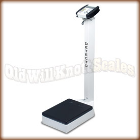 The Detecto 6127 waist high physician scale.