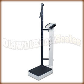 The Detecto 6129 waist high physician scale.