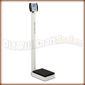 The Detecto 6437 eye-level physician scale.