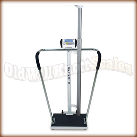 Detecto 6854 DHR High Capacity Scale and Height Rod