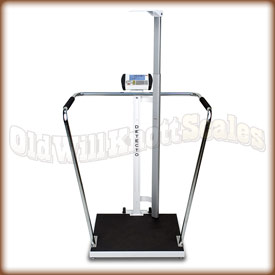 Detecto 6857 DHR High Capacity Scale and Height Rod
