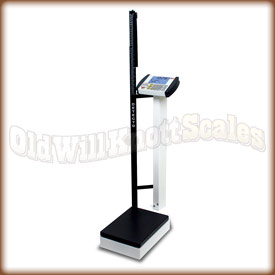 The Detecto 8430 waist high physician scale.