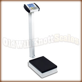 The Detecto 8437 waist high physician scale.