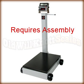 The Detecto 5852F-204 mechanical floor scale