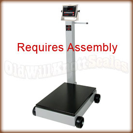The Detecto 8852F-205 mechanical floor scale
