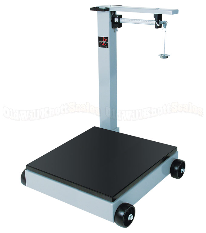 Detecto 954f100p Ntep Legal For Trade Portable Beam Floor