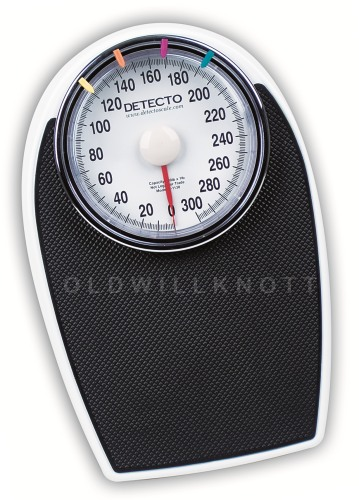 Detecto D1130 Professional Mechanical Bathroom Scale. Durable, Professional  Personal Scale From Detecto Scales. 300 Pound Capacity X 1 Pound Resolution