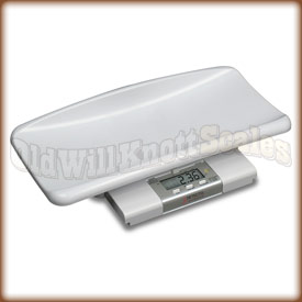 The Detecto MB150 Mother Baby scale with cradle.