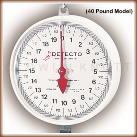 The MCS dial display, 40 pound model