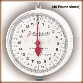 Detecto - MCS 20KGH - Dial Closeup