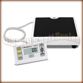 The Detecto ProDoc PD100 low profile medical scale.