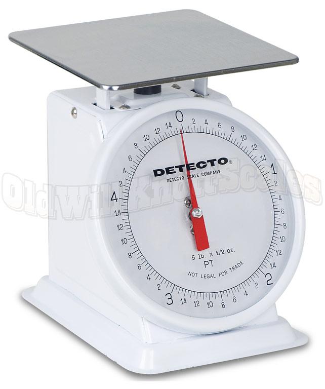 detecto pt25 enamel body u0026 fixed dial - Detecto Scales