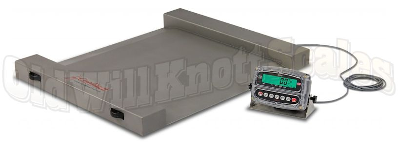 Detecto Run A Weigh Rw 1000s Portable Floor Scale With Wheels