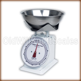 The T50B with stainless steel weighing bowl.