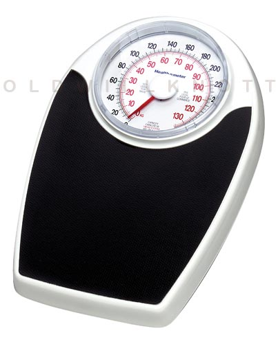 Health o meter 142kl mechanical bathroom scales - How to calibrate a bathroom scale ...