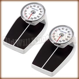 The Health o meter 160 Series mechanical bathroom scale - kilogram model.