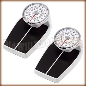 The Health o meter 160 Series mechanical bathroom scale - kilogram and pound model.