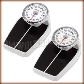 The Health o meter 160 Series mechanical bathroom scale - pound model.