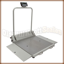 health o meter 2610 KL professional wheel chair scale.