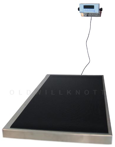 Health o meter 2842kl platform veterinary scale - How to calibrate a bathroom scale ...
