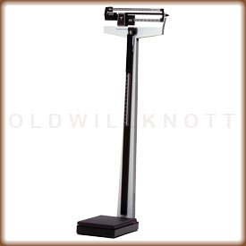 health o meter 402 LBWH physician beam scale.