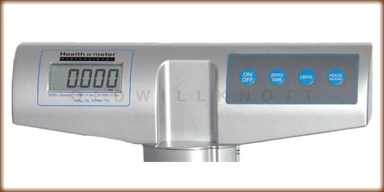 Healthometer - 522KL - Display