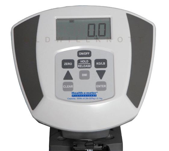 Health O Meter 600kl High Capacity Eye Level Column Scale