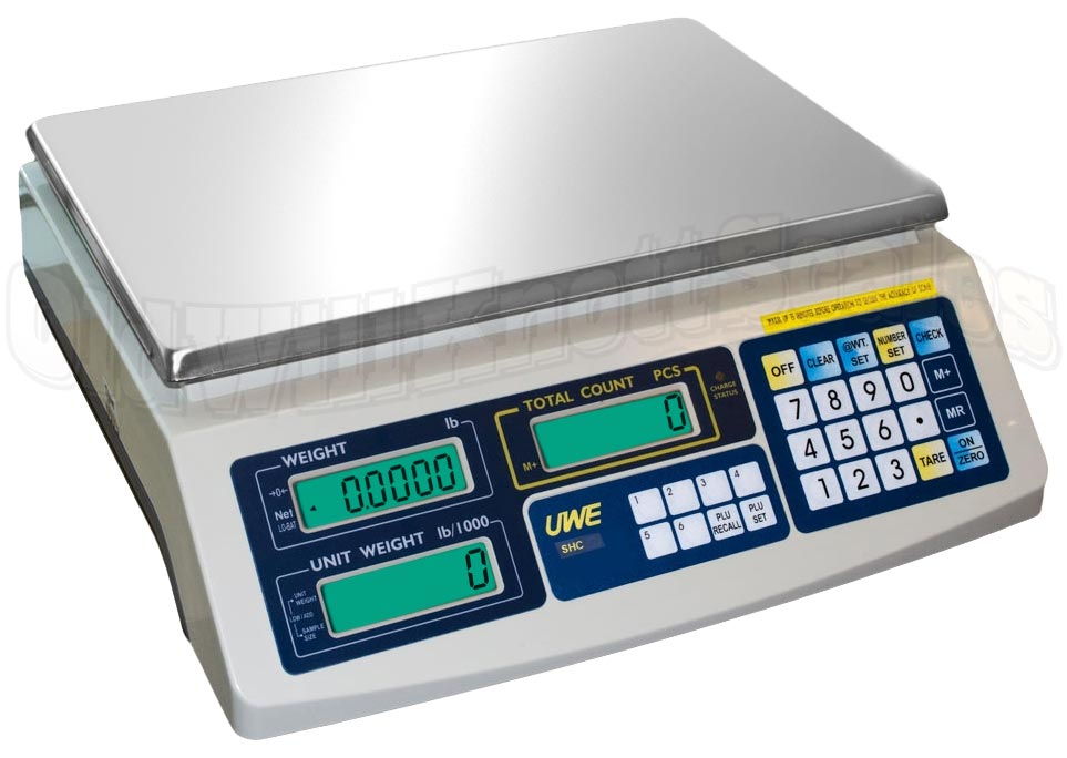 Intelligent Count Shc 6 Compact Counting Scale With 99